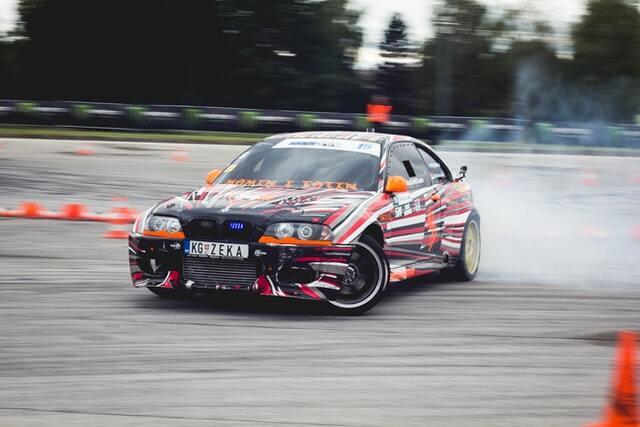 racing car tarmac